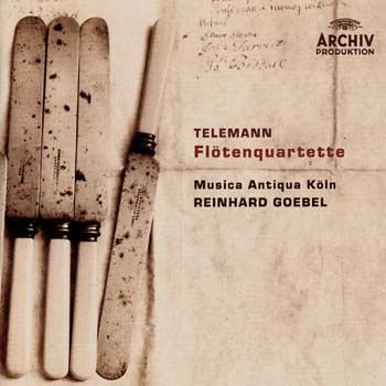 Telemann: Flötenquartette (2005)