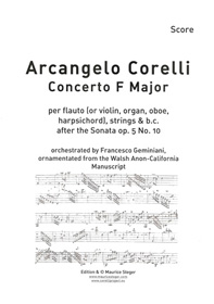Corellis Concerto F Major
